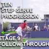 Learn How To Serve Stage 9 - Follow Through